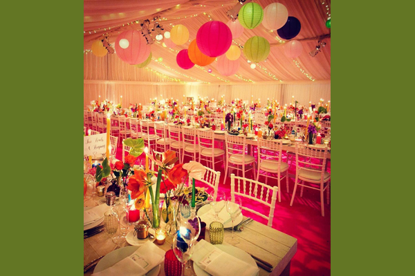 Colour Pop Wedding